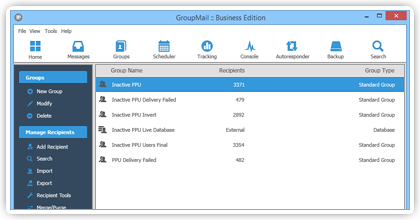 Email Group Software 117